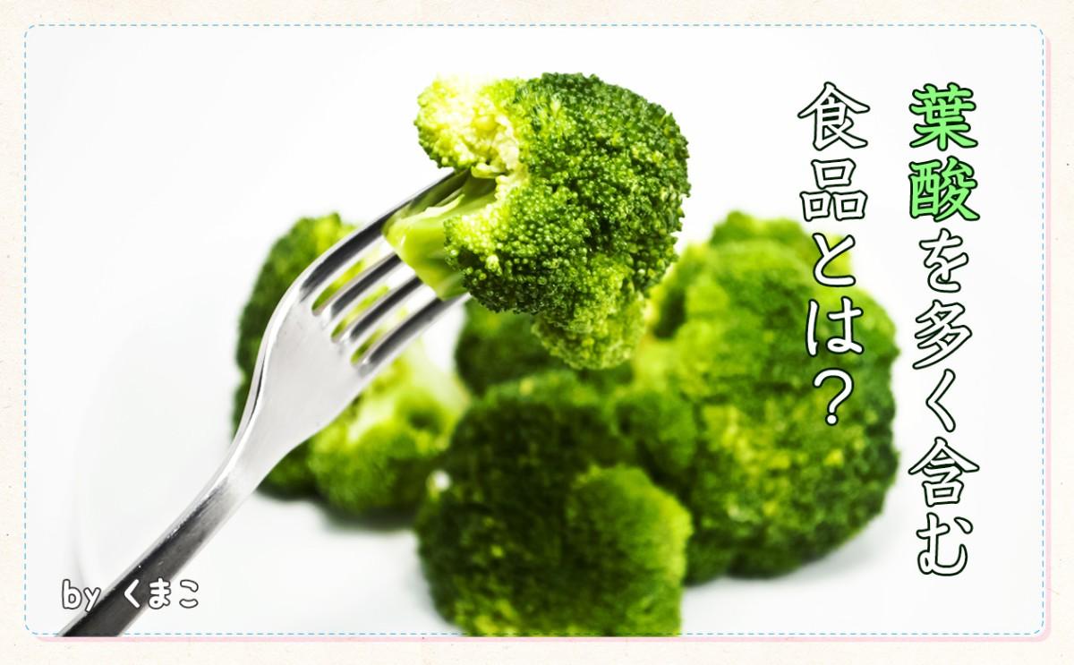 〈食育まめ知識〉妊娠中に葉酸、どうして必要??(プレママ向け)