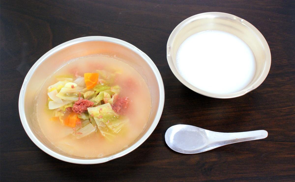昭和22年の給食レシピを再現!